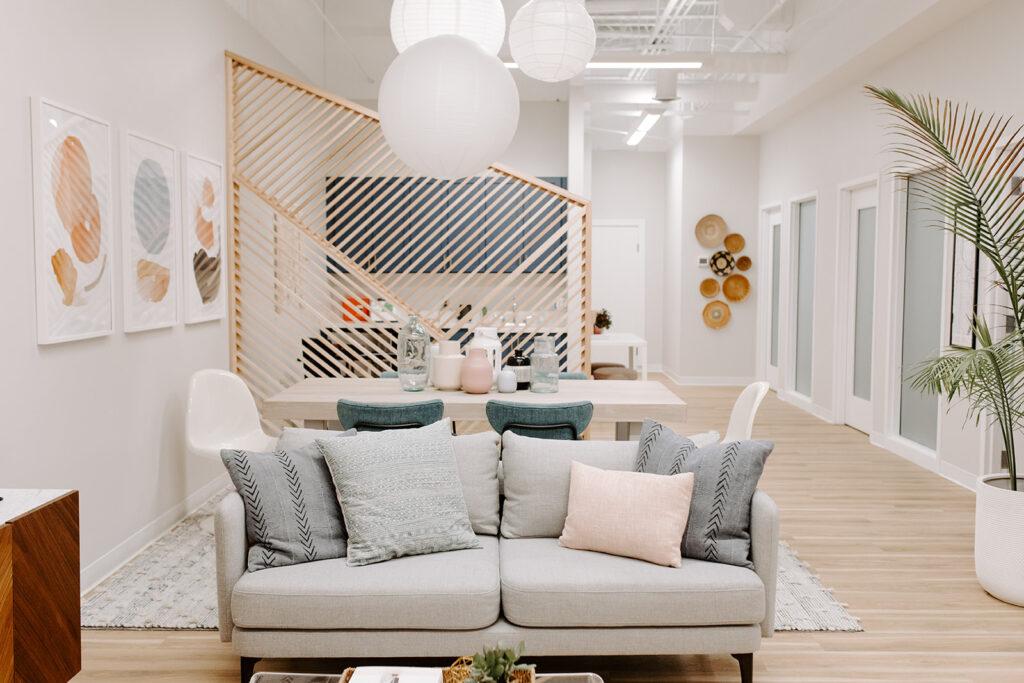 Couch in Minneapolis Integrative Medicine Center